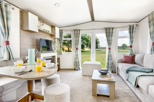 Lounge, ABI Oakley Mobile Home, Lodge, Caravan in the Sun for sale in France