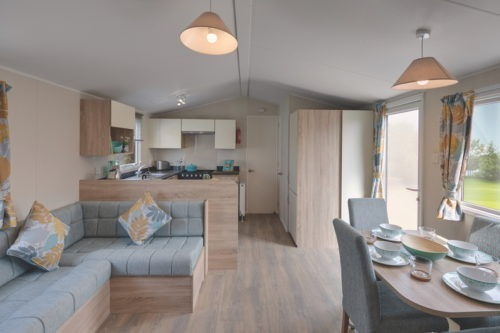 Open Plan, Willerby Mistral Martin Mobile Home, Caravan in the Sun, for sale in France